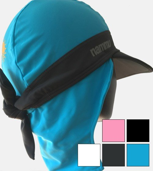 c0cb71aca nammu sun protective swim bandanas and more - Nammu Swimming Hats